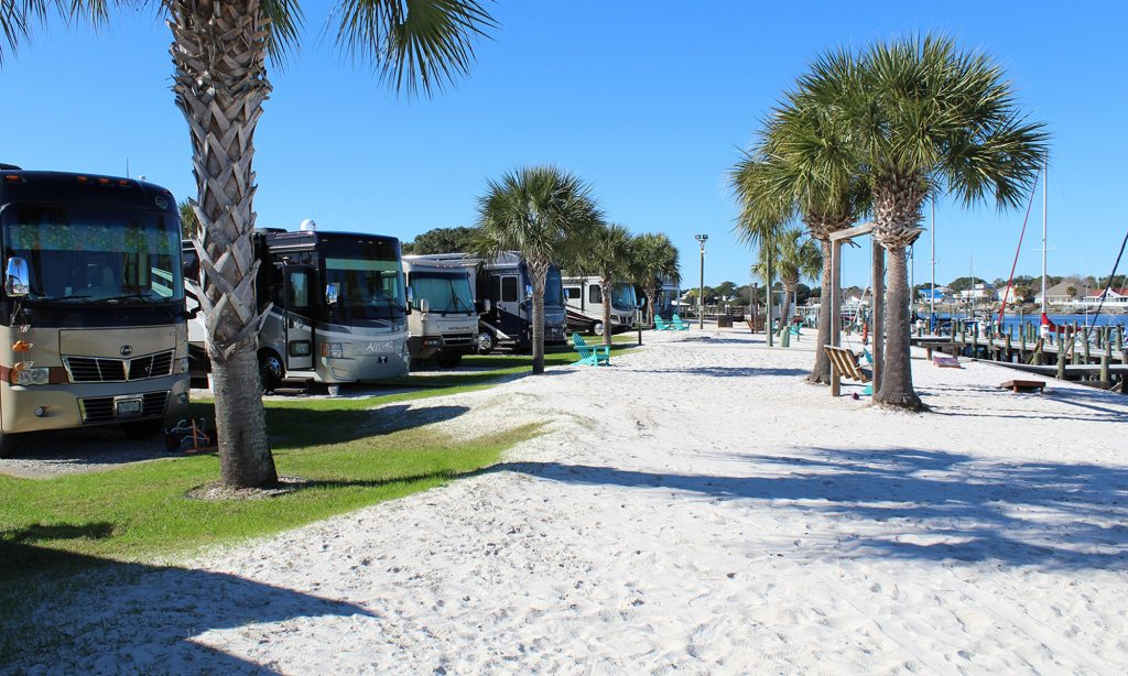 Private Beach - Perdido Key RV Resort & Marina