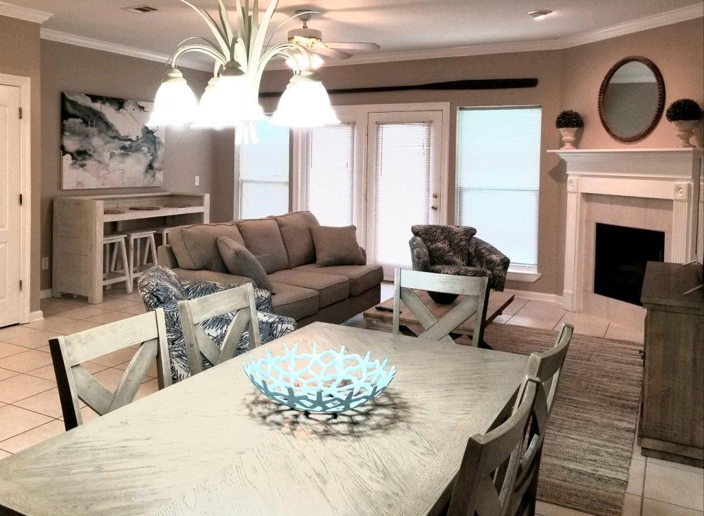 Luxury Condo Living Area - Perdido Key RV Resort & Marina